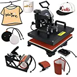 Best T-Shirt Heat Presses - 5 in 1 Dual Digital Transfer Sublimation Heat Review