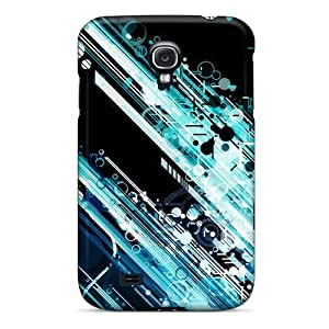 Tpu Case For Galaxy S4 With Circles And Lines