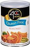 4C Crumbs-Seasoned, Gluten Free, 12 Ounce