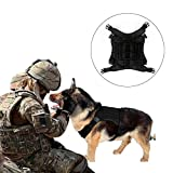 Pettom Service Dog Vest Harness Training Tactical Molle Dog...