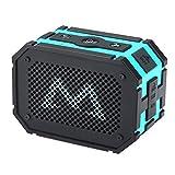 Bluetooth Lautsprecher, Mpow 5W Tragbarer Lautsprecher Wasserdicht Stero Bluetooth Speaker Boombox mit 1000mAh Power Bank Funktion Starker Bass für iPhone, iPod und andere MP3 MP4 iOS& Android Geräte(Blau)