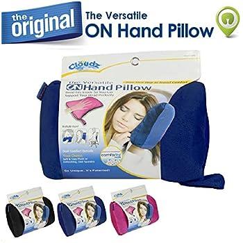 Cloudz On Hand Microbead Travel Pillow - Blue