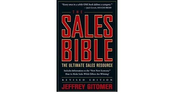 The Sales Bible: The Ultimate Sales Resource: Amazon.es: Jeffrey H. Gitomer: Libros en idiomas extranjeros