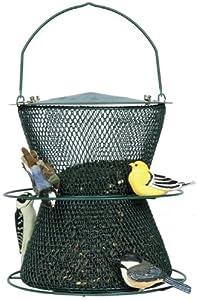 No/No  Forest Green Hourglass Bird Feeder  GHG00318 On Sale