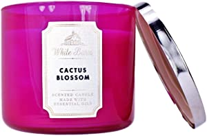 White Barn Bath and Body Works 3 Wick Scented Candle Cactus Blossom 14.5 Ounce