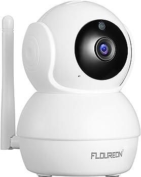 FLOUREON 2.0MP Wireless Security 1080P HD WiFi Camera