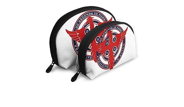 Amazon.com: WangSiwe 30 Seconds to Mars PouchZipper Toiletry Organizer Travel Makeup Clutch Bag Portable Bags Clutch Pouch Storage Bags: Home & Kitchen