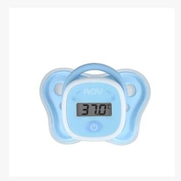 NAIZUI Termómetro de chupete de Practical para llevar fácil materiales no tóxicos Compre uno y llévese