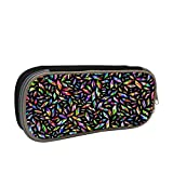 Stereoscopic Rhombus Large Capacity Multi-Layer Pencil Case Back To School Choice Black