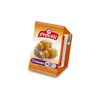Croissant Proceli Sin Gluten 3 unidades: Amazon.es ...