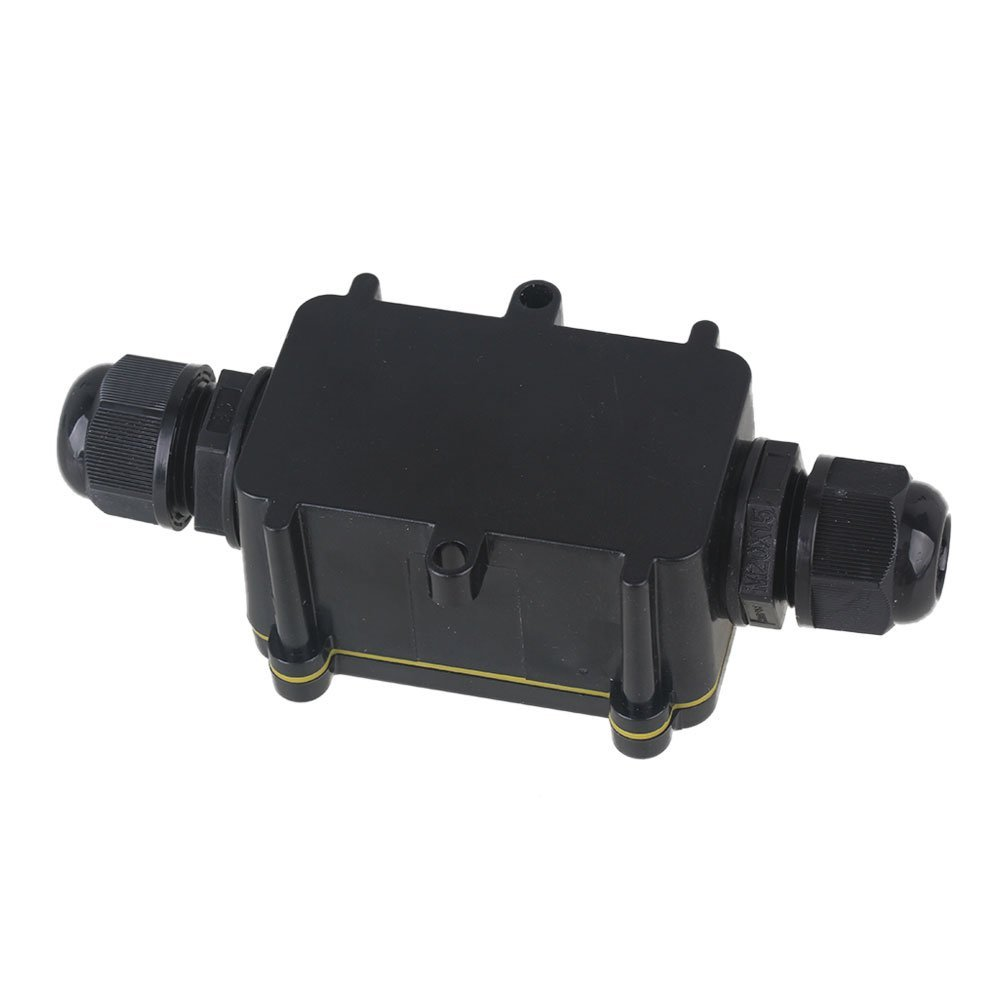 Cnbtr Outdoor Waterproof Ip68 Junction Box 2 Way Cable Wire Wiring Connector Protection Gland Electrical With 3 Terminal Cnbtr3349 Boxes Tools