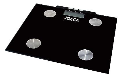 Jocca 7148 - Bascula para medir la grasa, color negro