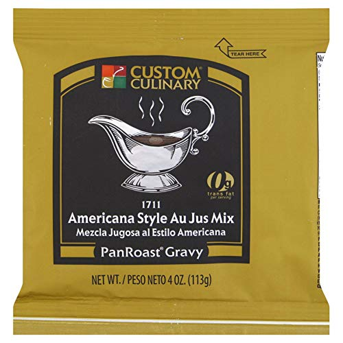 Custom Culinary Master's Touch Americana Au Jus (PanRoast Gravy) Mix, 4-Ounce Pouches (Pack of ()
