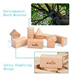 KAJA Classic Natural Wooden Building Blocks Sets 80