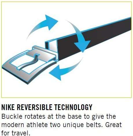Nike Mens Perforated Reversible Belt