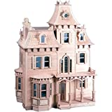 The Beacon Hill Dollhouse Kit, Imagine And Play For Hours On End With This Elegant Dollhouse Kit.
