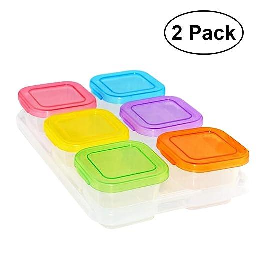 UPKOCH Recipiente de plástico para Alimentos Stroage ...