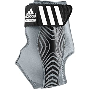 adidas Adizero Left Ankle Brace, Grey/Black, Small