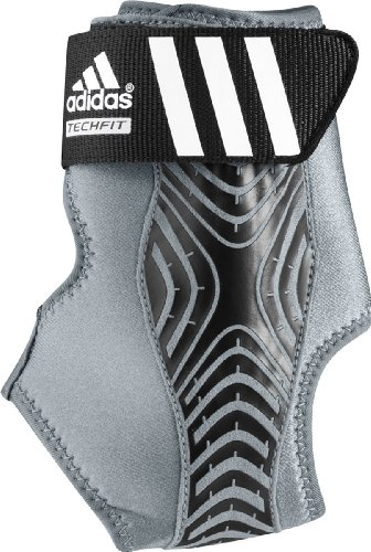 adidas Adizero Left Ankle Brace, Grey/Black, (Adidas 1 Basketball)