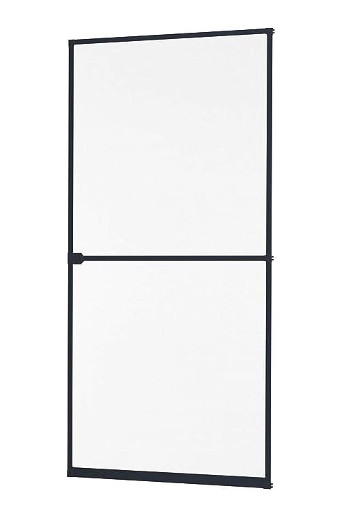 Alu Insektenschutz Fliegengitter Tür Alurahmen First Level 100 x 210 Auf Maß
