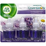 Air Wick Scented Oil Air Freshener, Lavender and Chamomile Scent, Triple Refills, 0.67 oz (Pack of 10)