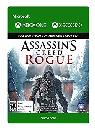 Assassin's Creed Rogue - Xbox 360 / Xbox One [Digital Code]