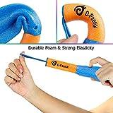 D-FantiX Rocket Toys, 6 Pack LED Foam Finger