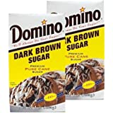 Domino Dark Brown Sugar 16 oz (Pack of 2)