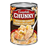 Campbell's Chunky Chicken Corn Chowder Soup, 540ml