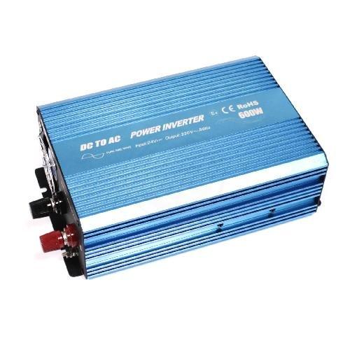 Cablematic - Reine Sinus-Wechselrichter 31VDC bis 220VAC 20 ~ 600W Solar-