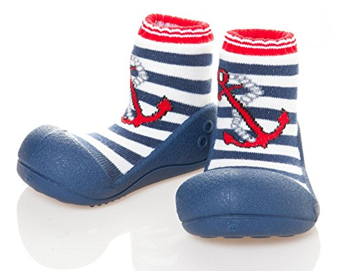Attipas Marine Rouge Baby First Walker Chaussures–pour chaussures pantoufles taille–9