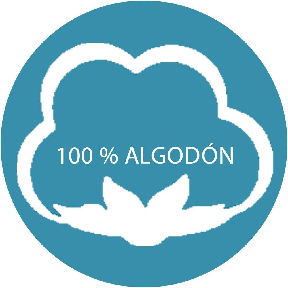 Juego Funda N/órdica 100/% Algod/ón Natural para Cuna de Beb/é Jirafa BABY203007 DHestia