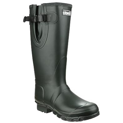 Cotswold Neoprene Black Boot Kew Mens Welly Wellington Buckle rqwrO0HE