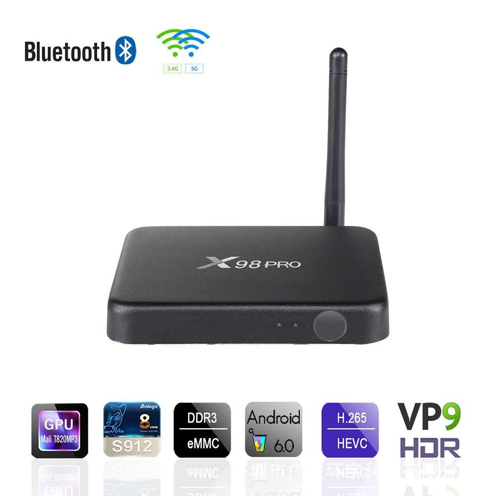 LinZec X98 PRO Smart TV Box Android 7 1, Octa- core Network Player