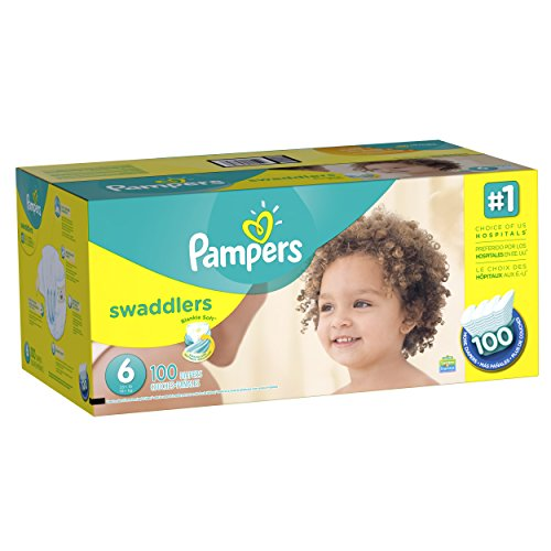 Large Product Image of Pampers Swaddlers Disposable Diapers Size 6, 100 Count, ECONOMY PACK PLUS