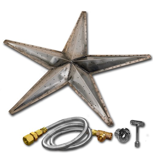 Firegear Outdoors Stainless Steel Fire Pit Burner Kit - Firestar (30-Inch)