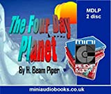 Front cover for the book Four-Day Planet by H. Beam Piper