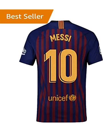 Nocopy-js 2018-2019 Barcelona #10 Messi Fans Soccer Jersey Mens Home Color