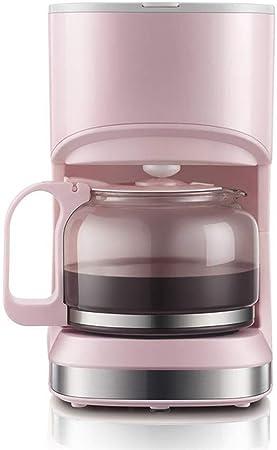 QZKFJ Máquina de café Americano, Mini hogar automático por Goteo Cafetera, 700ml, 550w (Color : Pink): Amazon.es: Hogar