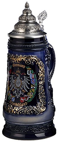 - German Beer Stein - Souvenir Shield .5L