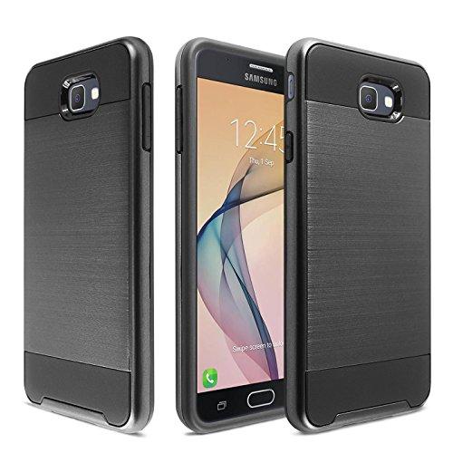 Slim Shockproof Case for Samsung Galaxy On7 (Black) - 1