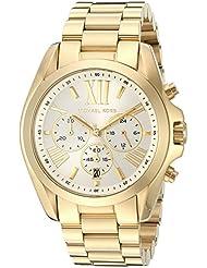Michael Kors Womens Bradshaw Gold-Tone Watch MK6266