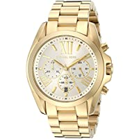 Michael Kors Women's Bradshaw Gold-Tone Watch MK6266