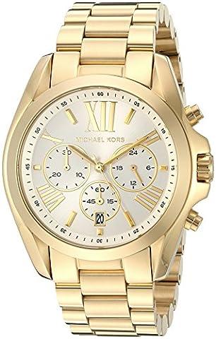 Michael Kors Women's Bradshaw Gold-Tone Watch MK6266 (Michael Kors Bradshaw Watch 43mm)