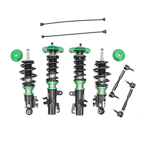 R9-HS2-040_2 made for Mini Cooper S (R53) Hatchback 2002-06 Hyper-Street II Coilovers Lowering Kit by Rev9, 32 Damping Level ()