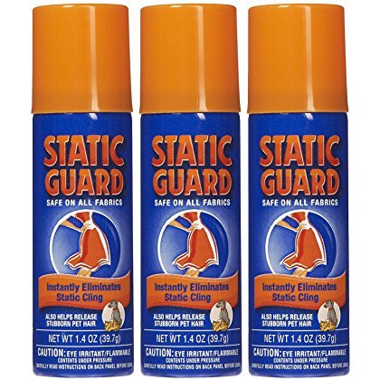 Static Guard Travel Size 1.4 oz. (3-Pack) (Anti Static For Clothes)