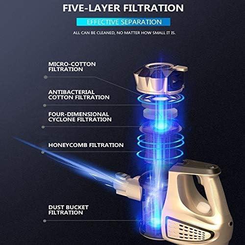 LIUCHANG Portable 2 en 1 de Poche sans Fil Aspirateur Cyclone Filtre 8900Pa Forte Aspiration Collecteur de poussière Aspirateur liuchang20
