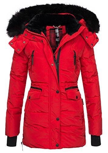 Navahoo Sleeve Red Jacket Long Plain Women's 7rwxv7
