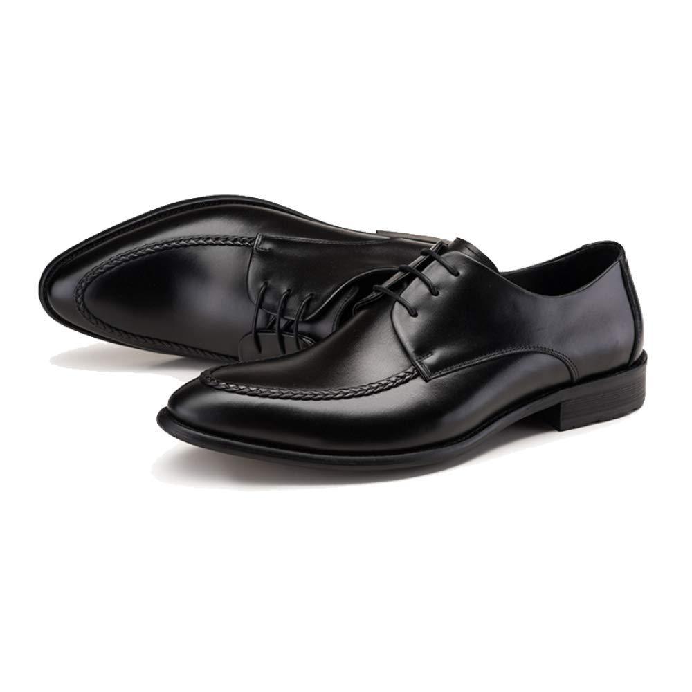 ZQZQ England, Mode, Geschäft, Männer, Formelle Kleidung, Mode, England, Spitz schwarz cbc6ab