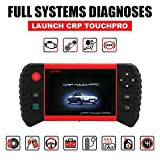 LAUNCH CRP Touch Pro Android-Based 5.0-Inch Touch Screen Full System OBD2 Diagnostic Scan Tool Wi-Fi Enabled to Fix SAS/EPB/BMS/DPF/Oil Reset for Mechanic and Experienced Enthusiast